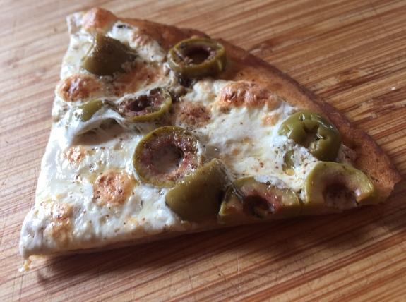 Slice of Zaatar Pie