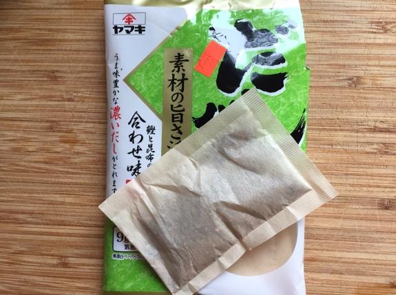 Dashi tea bags